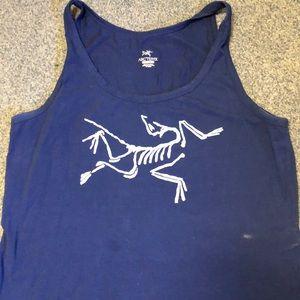 Arcteryx logo tank top